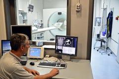 Radioloog arts Royalty-vrije Stock Afbeelding