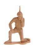 Radioman het leger van het stuk speelgoed Royalty-vrije Stock Foto