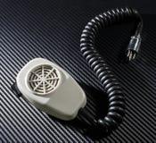 Radiomikrofon Fotografering för Bildbyråer