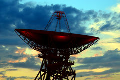 Radioobservatorium Lizenzfreies Stockfoto