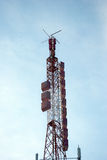 Radioradioantenner Arkivbild