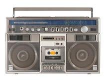 radioregistreringsapparat för 2 kassett royaltyfria foton
