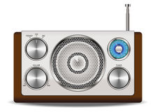 RadioRetro- Lizenzfreies Stockbild