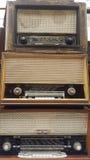Radioricevitori d'annata, sintonizzatori Fotografia Stock Libera da Diritti