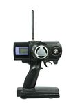 Radiosända den kontrollerade sändaren (RC) för modellbilar Arkivfoton