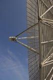 Radiosände teleskopantennen Arkivfoto
