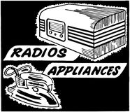 Radios Appliances Vector Illustration