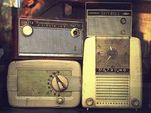 Radios de luxe par radio Photos libres de droits