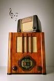 Radios de vintage Photos stock
