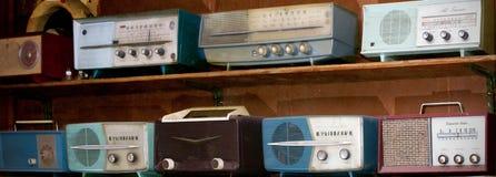 Radios de vintage Images libres de droits