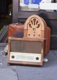 Radios de vintage Photographie stock libre de droits