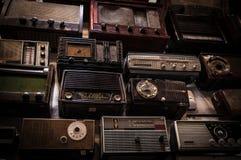 Radios de vintage Image libre de droits