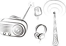 Radioset Lizenzfreie Stockfotos