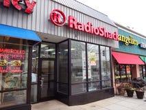 RadioShack sklep Zamyka Wkrótce Zdjęcia Royalty Free