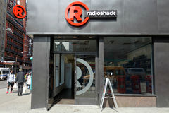 RadioShack. A RadioShack store in Chelsea, Manhattan. RadioShack Corporation is a franchise of electronics retail stores in the United States. In March 2014, the Royalty Free Stock Photo