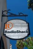 RadioShack Store and Sign Royalty Free Stock Photos