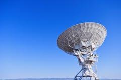 Radiosände teleskop Arkivfoto