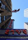 Radiostadsmusik Hall, Manhattan, New York City. Arkivfoto