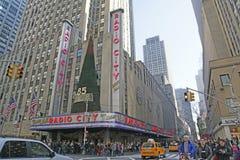 Radiostadsmusik Hall, New York City Royaltyfria Bilder