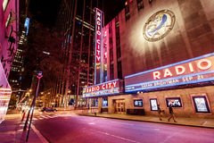 Radiostadt-Auditorium, New York Stockfotografie