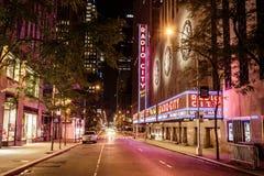 Radiostadt-Auditorium, New York Lizenzfreies Stockfoto