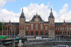 Radiostazione di Amsterdam Fotografie Stock Libere da Diritti