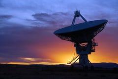 Radiotélescope Photographie stock libre de droits