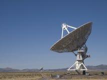 Radiotélescope d'alignement très grand Photos libres de droits
