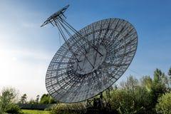 Radiotélescope d'antenne de l'observatoire de Pulkovo à St Peters images stock