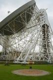 Radiotélescope de Lovell Images stock