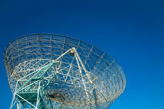 Radiotélescope géant Photographie stock libre de droits