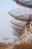 Radiotélescopes images libres de droits
