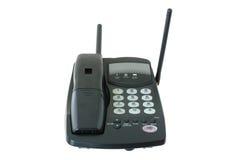 Radioteléfono coloreado negro. Fotografía de archivo libre de regalías