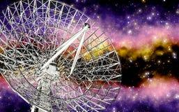 Radiotelescope Royalty Free Stock Photo