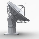 Radiotelescope Royalty Free Stock Photos