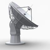 Radiotelescope illustrazione vettoriale