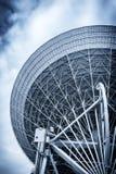 Radiotelescope closeup Royalty Free Stock Photo