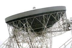 radiotelescope de jodrell de côté Image stock