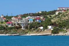 Radiotelescope dell'osservatorio di Simeiz, Crimea Immagine Stock Libera da Diritti