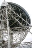 Radiotelescope della banca di Jodrell Fotografie Stock
