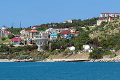 Radiotelescope of the Simeiz Observatory, Crimea Royalty Free Stock Image