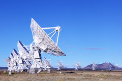 Radiotelescopes Stock Photo