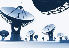 Radiotelescopes Stock Images