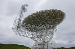 Radiotelescopio gigantesco Immagini Stock