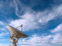 Radioteleskop Stockbild