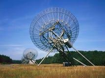 Radioteleskop på Westerbork Nederländerna Royaltyfri Foto