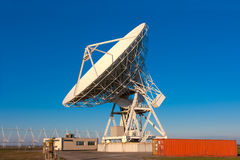 Radioteleskop sehr großer Reihe VLA Stockbild