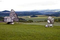 Radioteleskope Lizenzfreie Stockfotografie