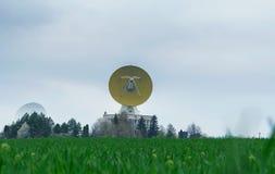 Radioteleskope Stockbild