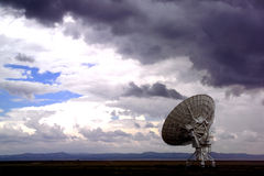 Radiotélescope de Lovell Images libres de droits